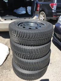 Dodge Journey winter tires with rims 225/65R17