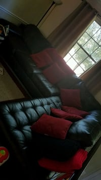 black and red sectional couch Germantown, 20876