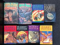 Harry Potter books collection. J.K Rowling. 8 in total. Hamilton, L8H 4R5