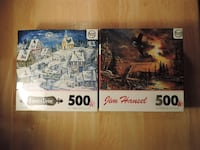 2 Complete puzzles (500 pieces) CALGARY