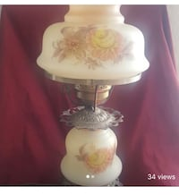 white and pink floral table lamp Sun City, 85373