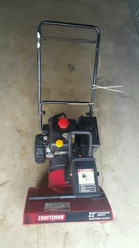 black and red push mower Arlington Heights