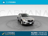2014 Mazda CX5 suv Touring Sport Utility 4D Silver Brentwood