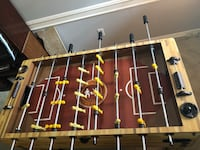 brown and green foosball table Pearland, 77581