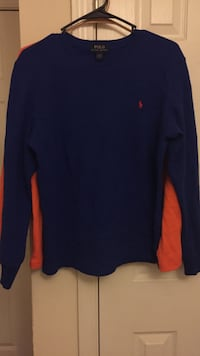 Blue and orange ralph lauren sweater Conway, 29526