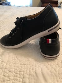 Casual black shoes size 10