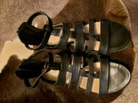 Black Gladiator Sandals by NINE WEST  Bellwood, 60104