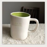 NEW Rae Dunn OUT OF OFFICE. TYPEWRITER print Coffee Mug
