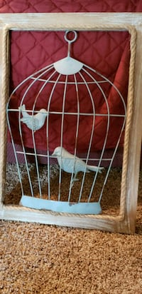 white metal frame with red metal pet cage Coraopolis, 15108