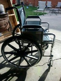 black and gray metal wheelchair Roseville, 48066