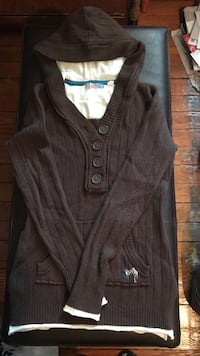 Roxy Ladies Small Sweater Brown