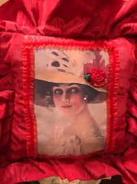 Gorgeous Victorian Lady Pillow Gainesville, 20155