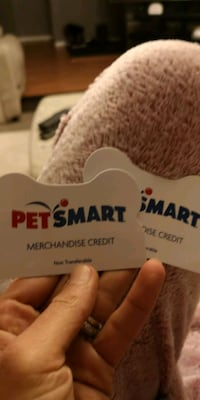 2 Gift card for your pets