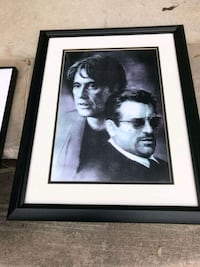 Al Pacino and Robert Di niro frame