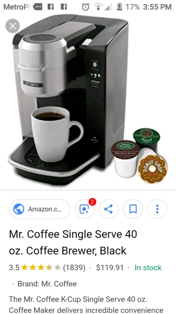 Used Mr Coffee Keurig For Sale In Owosso Letgo