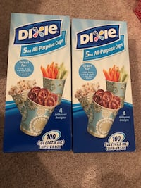2 packs Dixie 5-oz cups x 100 ct  Silver Spring, 20905