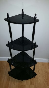 black wooden 4 tier corner stand Derwood, 20855