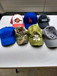 Baseball caps, $30 for all of them San Diego, 92107