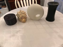 Decorative soy candles new condition $15 all 3