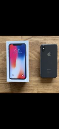 iPhone X 256gb 6555 km