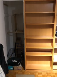 WOODEN BOOKSHELF GREAT CONDITION  Hampstead, H3X 4A4