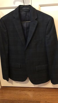 Ralph Lauren boys black watch notched lapel blazer.  Worn once. Size 14 Alexandria, 22304