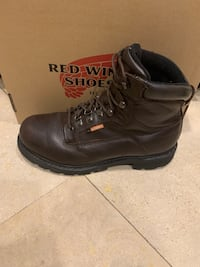"""Red Wing Worx 6"""" Boots Size 9.5 Longwood, 32779"""