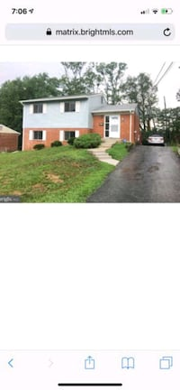 HOUSE For Rent 4+BR 2BA Temple Hills