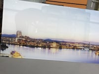"""Picture of Victoria, BC. In acrylic 60""""x35"""" Burnaby, V5H 4H6"""
