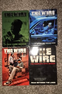 The Wire Seasons 2-5 on DVD Calgary