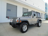 2001 Jeep TJ Sport 5 SPEED MANUAL LOCAL BC VEHICLE NEW WESTMINSTER
