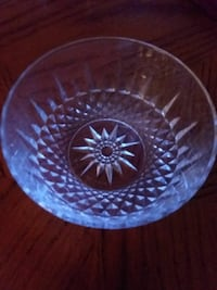 Vintage Crystal Candy Dish Laughlin, 89029