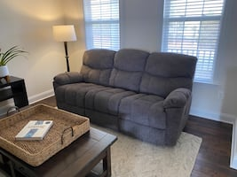Lazy Boy Morrison Recliner Sofa and Loveseat with Console