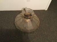 clear glass table lampshade Pinnacle