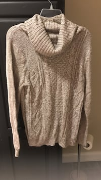 Brown turtle neck sweater
