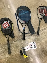 Tennis and Squash rackets Mississauga, L5C