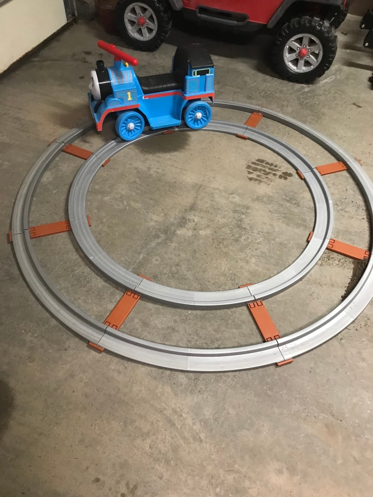 Photo Thomas the Train Power Wheel with Track
