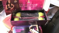 Zumba fitness workout DVD's with weight shakers Stephens City, 22655