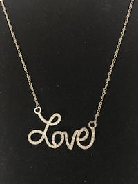 Love necklace- gold available East Hartford, 06118
