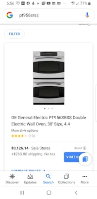 GE General Electric Double Wall Oven,  30 inch Burke, 22015