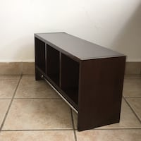 Brown wooden Modular Storage Furniture For Bathrooms Or Rooms
