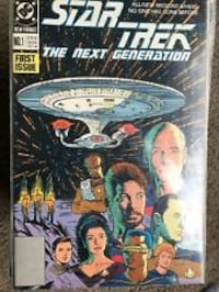 DC Star Trek The Next Generation comic book