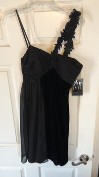 women's black spaghetti strap dress Clinton Township, 48035