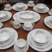 Vintage Dinnerware set for 6 Royal Standard Dawn Mississauga, L4X 1S2