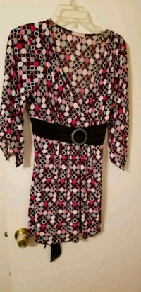 women's black and red floral dress Manassas, 20111