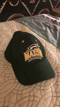 black and yellow Mason Patriots fitted cap Fairfax, 22030