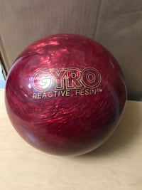 Bowling ball Gyro Reactive resin.   Des Plaines, 60016