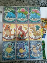 Complete TOPPS Pokemon Series 1 Card Collection  Toronto, M1H 3J5