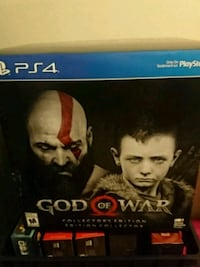 God of war game and statue Newmarket