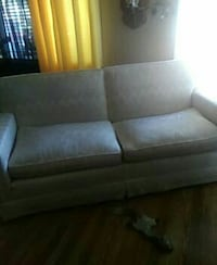 gray 2-seat couch